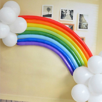 Mixed color about 29cm long balloon magic Variety shape balloon wedding party decoration product 200pcs DIY balloon 05017