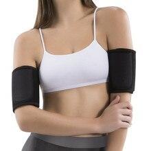 √  Новый 1Pair Обогреватели для рук для похудения Бег Рукавный рукав Баскетбол Пот Shaper Arms