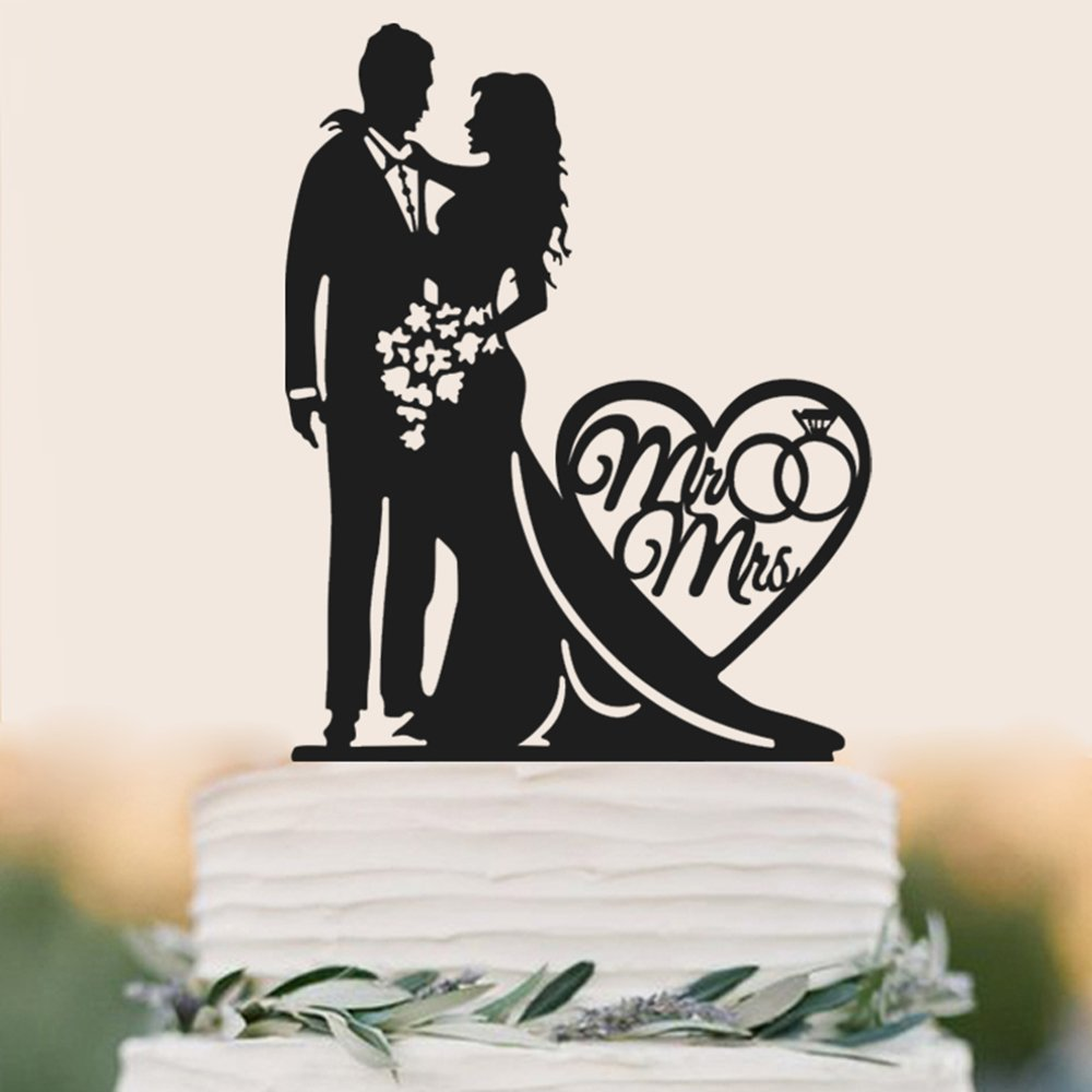 Small Crop Of Wedding Cake Toppers