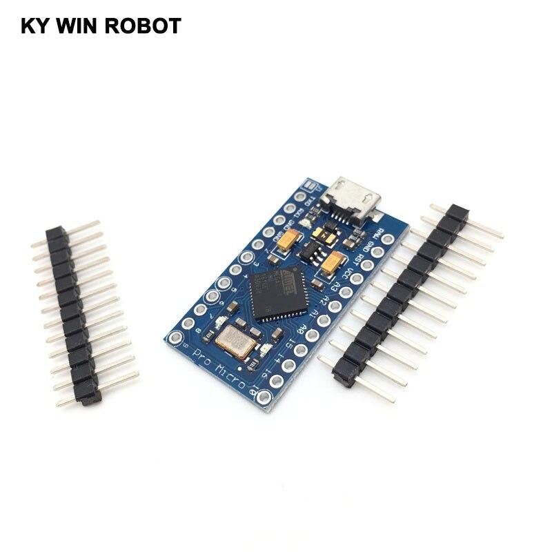 Pro Micro ATmega32U4 5V 16MHz Replace ATmega328 for Arduino Pro MiniPro Micro ATmega32U4 5V 16MHz Replace ATmega328 for Arduino Pro Mini