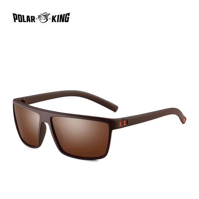 POLARKING 330 Retro Polarized Sunglasses