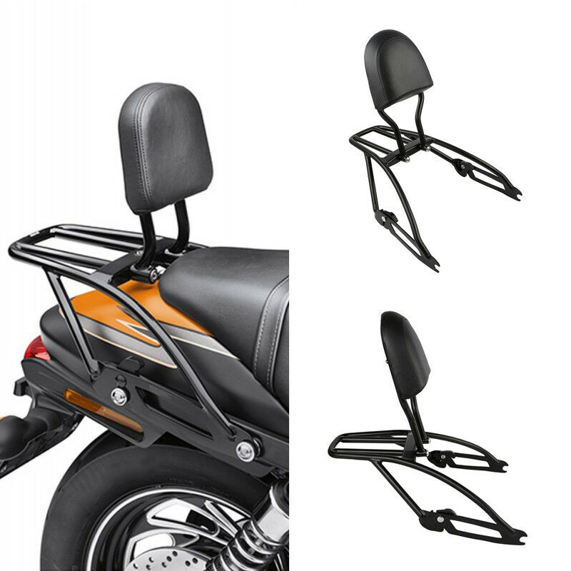 Image 1 - Motorcycle Sissy Bar Luggage Rack Backrest For Harley Street 500 750 XG500 XG750 2015 2019 2018-in Covers & Ornamental Mouldings from Automobiles & Motorcycles