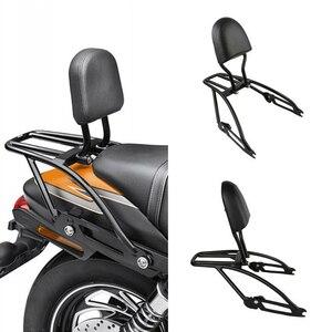 Image 2 - Motorrad Sissy Bar Gepäck Rack Rückenlehne Motor Wachen Auspuffrohr Für Harley Street 500 750 XG500 XG750 2015 2020 2019