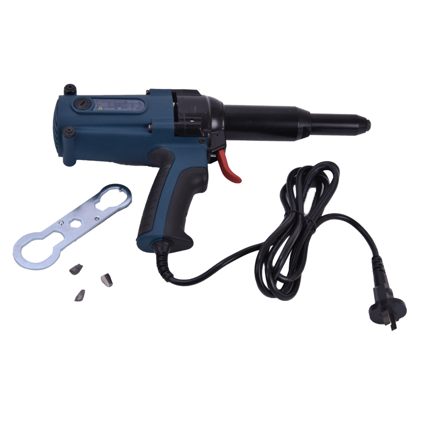 High Quality TAC500 220 V Electricity Riveter Riveter Gun 8000N Electric Nail Gun  400W