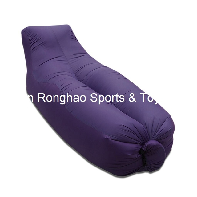 Strand Portable Gartenmöbel Luftbett Aufblasbare Hängematte Schlafsack  Camping Luft Sofa Polyester Faul Tasche Umwelt