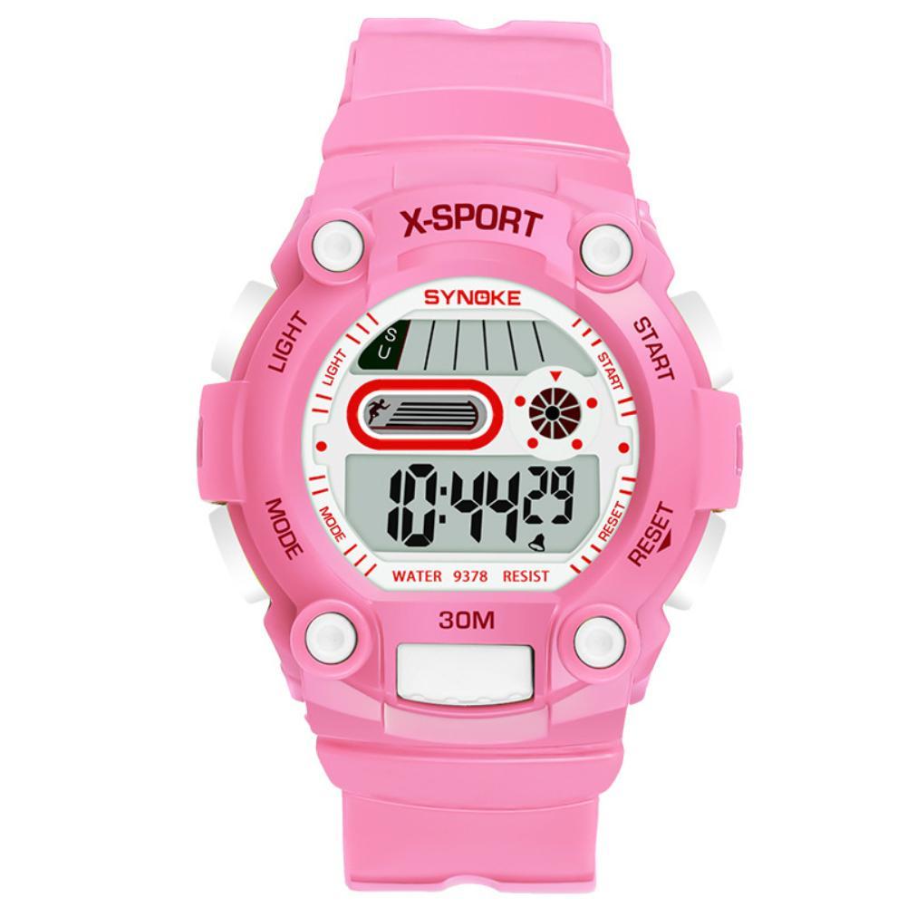 Digital Wrist-Watch Sports Waterproof Life-Electronics Luminous Children Display Kid