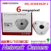 Fast Free Shipping 6MP Fisheye Network Camera 360 View Angle English Version DS 2CD6362F I