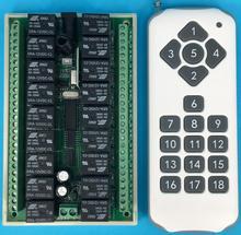 DC 12 V 10A 18CH RF Wireless Remote Control chuyển 1000 m Nông Nghiệp ngành công nghiệp an ninh điều khiển new power on và off
