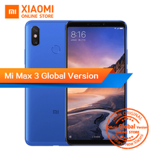 Global Version Xiaomi Mi Max 3 4GB 64GB 6.9″ 1080P Full Screen Snapdragon 636 Octa Core 5500mAh QC 3.0 Dual Camera Smartphone