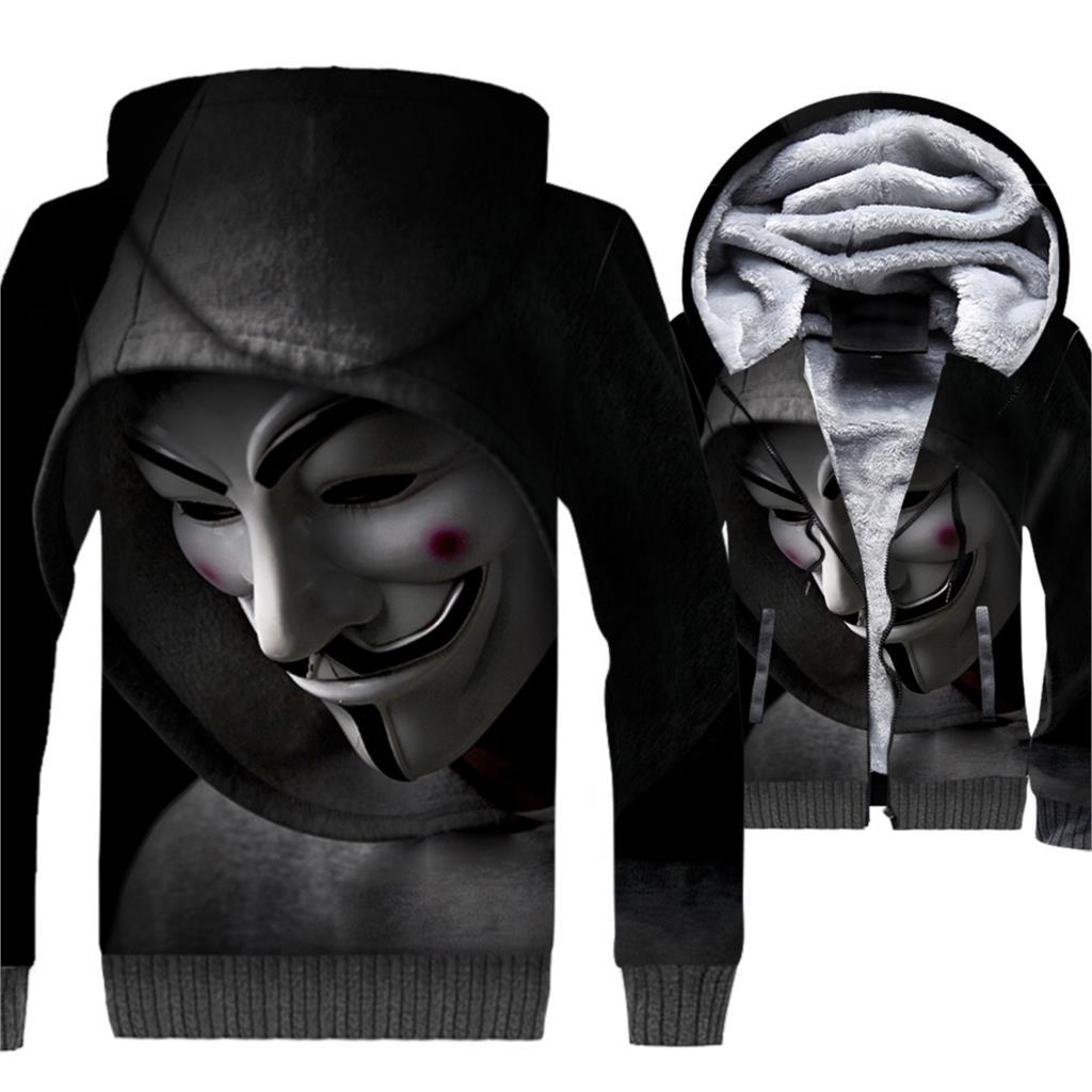 082bbc64478 Men s Sweatshirt For Autumn Winter Thick Coats 2018 New Arrival 3D ...
