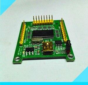 Image 3 - ADF4350 ADF43501 PLL RF אות מקור תדר סינתיסייזר פיתוח לוח סינוס גל/CY7C68013A USB 2.0 לוח היגיון מנתח