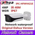 Original DAHUA 4MP WDR HFW4421E Fixed Lens3.6mm IR40m Network waterproof IP67 Vandalproof Bullet IP Camera IPC-HFW4421E