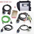 Professional High Quality Full Chip MB STAR C4 SD CONNECT with software DHL FREE