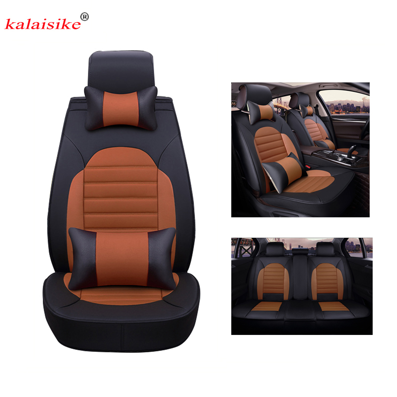 Kalaisike leather Universal Car Seat covers for Mazda all models mazda 3 5 6 cx7 cx-5 MX-5 cx-3 car accessorie car styling