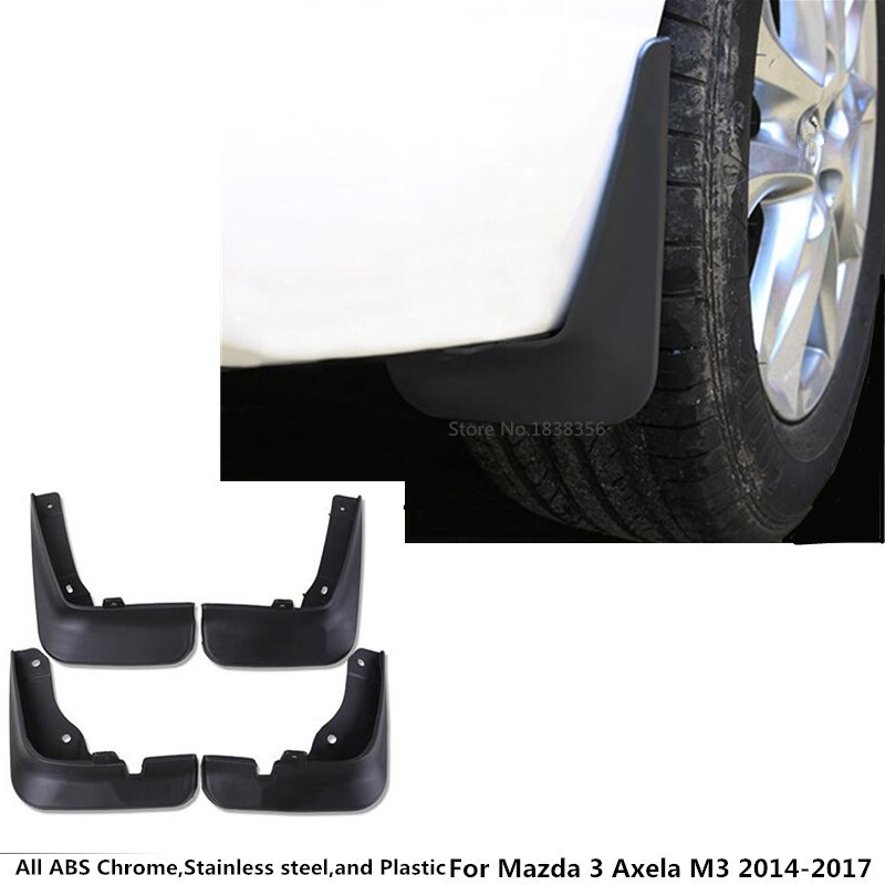 Ultra Soft Car Fender Covers: For Mazda 3 Axela M3 2014 2015 2016 2017 Car Cover Styling