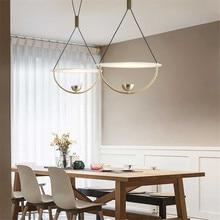 цены Modern Pendant Lamp Led Loft Living Room Pendant Lights Reading Dining Room Decor Light Kitchen Hanging Art Master Cafe hanglamp