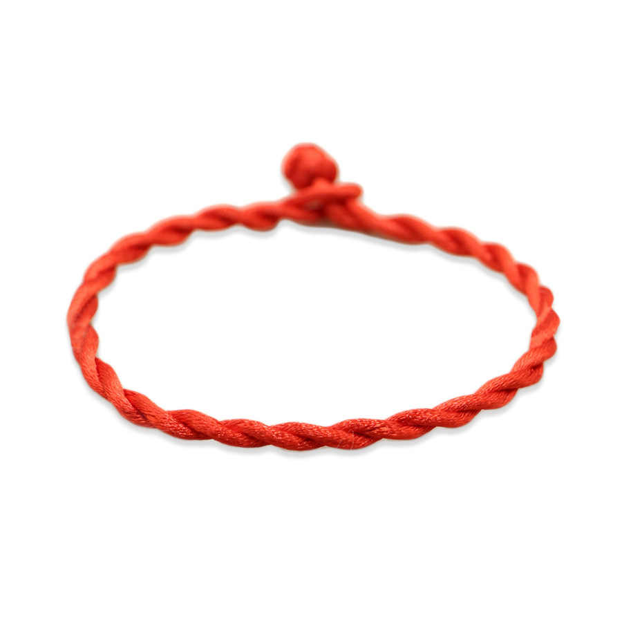 2018 Simple Women's Beads Charm Rope Red Thread Bracelet On Hand For Men Women Lover Fashion Jewelry Gift Wholesale Supply