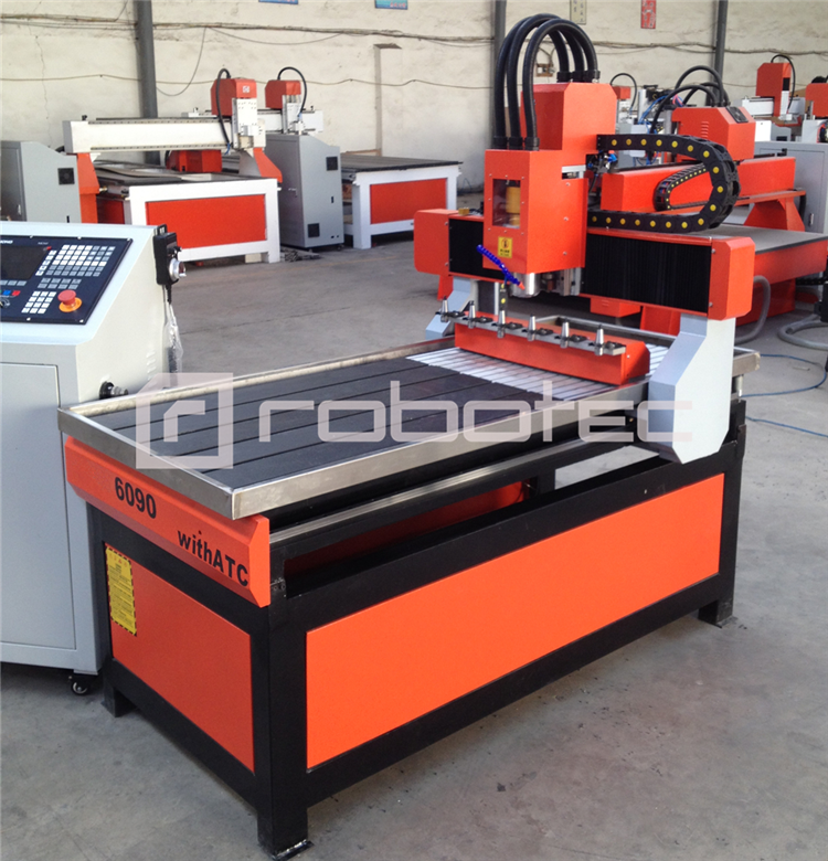 High Speed Auto Tool Change Cnc 6090 Router 3D Cnc Cutting Milling Machine For Wooden Stone Metal