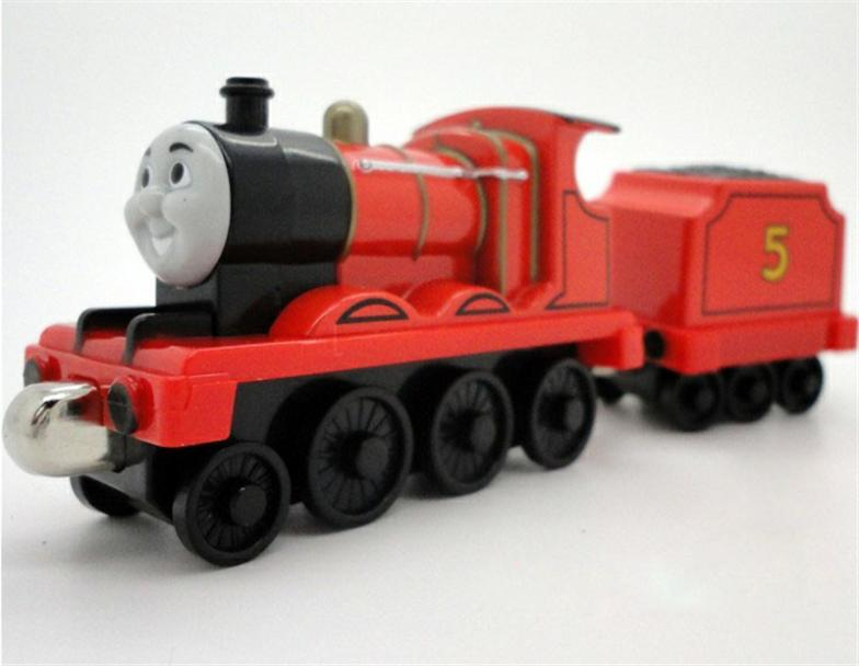 Thomas Friends The Tank Engine Metal Magnet Trains James And Jamess Tender Classic Toys For Children Model Gifts On Aliexpress