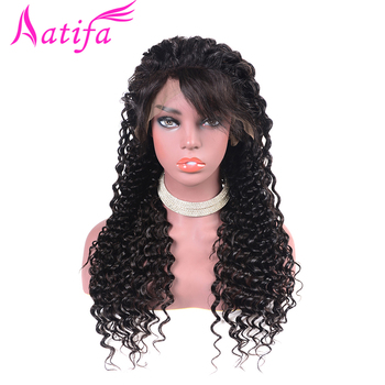 13x4 Lace Front Human Hair Wigs Brazilian Deep Wave Hair Wig Pre Plucked Lace Wig With Baby Hair 180% Density Wigs For Women
