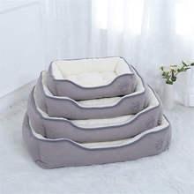 Plus Size Large Dog Bed Mat Kennel Soft Pet Puppy Warm House Plush Cozy Nest Pad