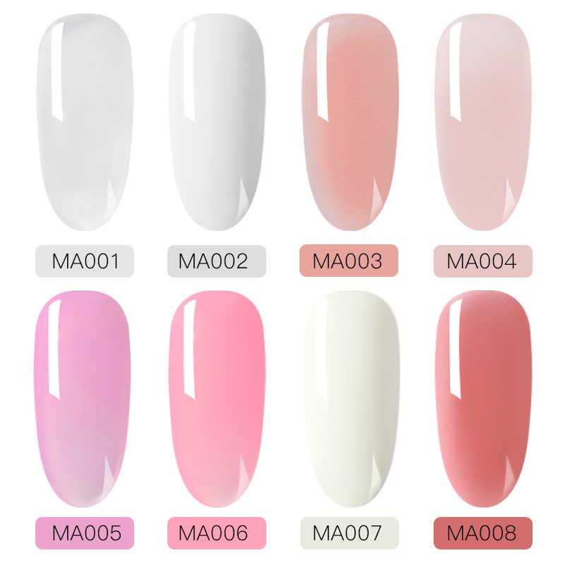 Voldoen Over Thermische Acryl Nail Extension Gel Roze Nagellak Quick Building Voor Nagels Extensions Hard Jelly Gel