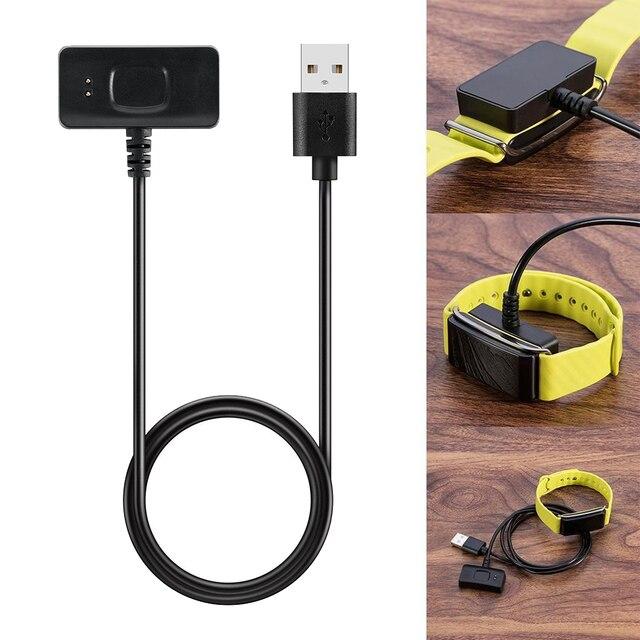 1 pc Cable de datos de carga rápido cargadores Cable de línea para HUAWEI Honor A2 reloj inteligente banda Accesorios