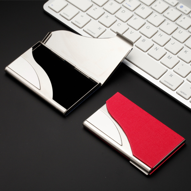 Luxury Credit Card Holder Stainless Metal Name Card Case Travel Card ...