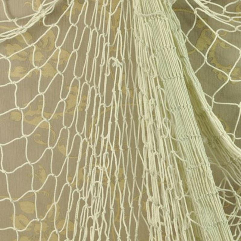 USA Sending Nautical Fishing Net Seaside Wall Beach Party Sea Shells Garden Home Room Decor Net Gifts