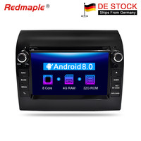 Android 8.0 Car DVD Player GPS Navigation Multimedia Stereo For Fiat Ducato 2008 2015 CITROEN Jumper PEUGEOT Boxer Auto Radio