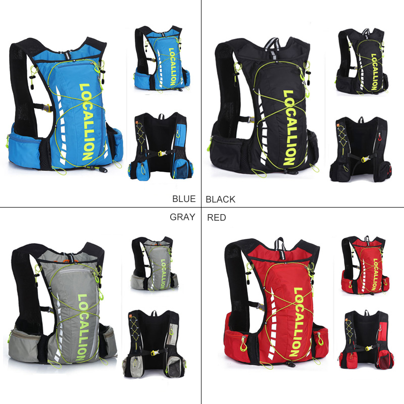 6f9cfe88d1 LOCAL LION 10L Cycling Backpack Breathable Hydration Backpack For Bicycle Women  Men Running Outdoor Sport Bag No Water Bag-in Bicycle Bags   Panniers from  ...
