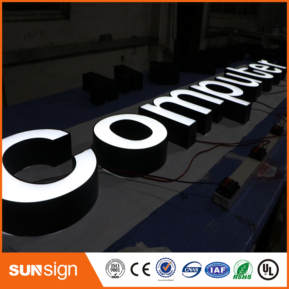 Illuminated Led Stainless Steel Letters And Signs