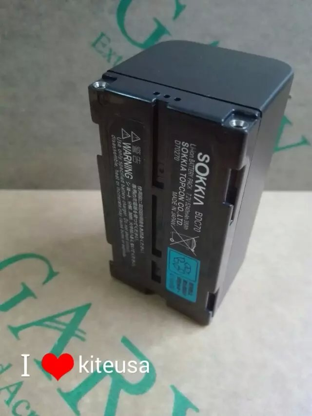 Batterie de samsung sokkia topcon BDC70 5240 mah batterie Li-ion pour Station totale SOKKIA TOPCON et instrument de surveillance GPSBatterie de samsung sokkia topcon BDC70 5240 mah batterie Li-ion pour Station totale SOKKIA TOPCON et instrument de surveillance GPS