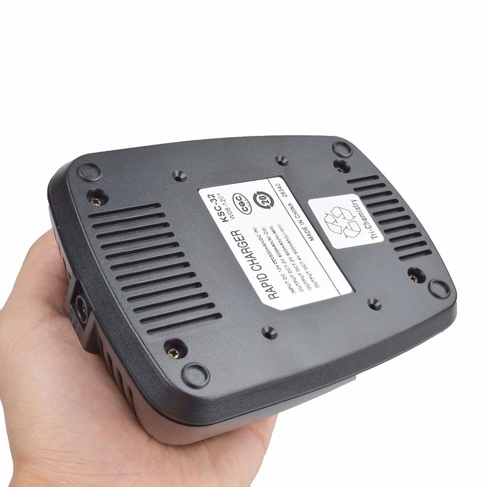KSC-32 Rapid Charger Base For KENWOOD NX410 NX411 TK5210 TK2180 TK3180 Radio