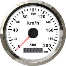 KUS Auto Motorrad ATV UTV 85mm GPS Tacho Tacho Gauge 0 200 KM/H