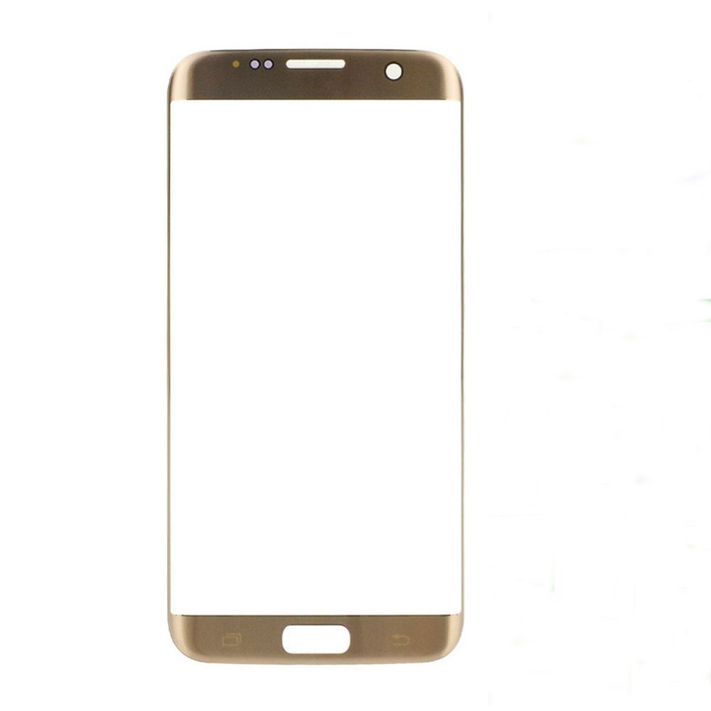 Original Brand New Silver Gold Blue New Front Screen Outer Glass Lens Replacement For Samsung Galaxy