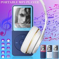 MP3 плеер кнопка модный цветной внешний вид внешняя звуковая функция HIFI без потерь музыка IQQ W1 Портативный MP3 плеер