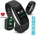 PK id107 pulsera de ritmo cardíaco Smart Watch ritmo cardíaco Monitores pedometer Smart Band Wireless fitness Tracker wristband