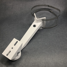 Кронштейн для камеры видеонаблюдения, цилиндрический полюсный кронштейн, прямоугольный внешний настенный угловой кронштейн, монтажный кронштейн, держатель, алюминиевый