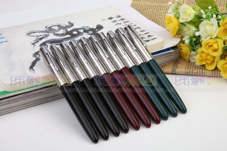 1Pcs/Lot Hero fountain pen 616 classic fountain pen free shipping hero 616 retro style pc fountain pen green red black 10 pcs
