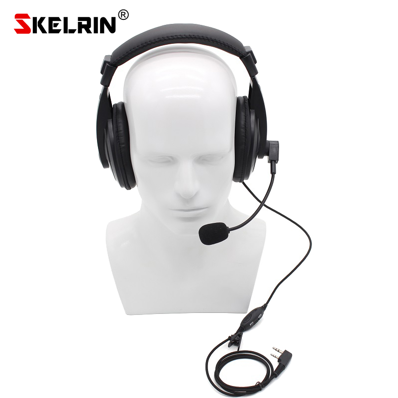 SKELRIN TK 750 VOX PTT Walkie Talkie Headset for Kenwood BaoFeng UV 5R UV 82 GT 3 Retevis H777 RT22 Zstone X6 TYT Portable Radio-in Walkie Talkie from Cellphones & Telecommunications on AliExpress - 11.11_Double 11_Singles' Day 1
