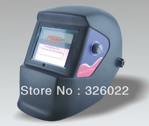 Electrical contact mask - auto-darkening welding helmet / auto-darkening mask (XDH1-600T black fine lines)