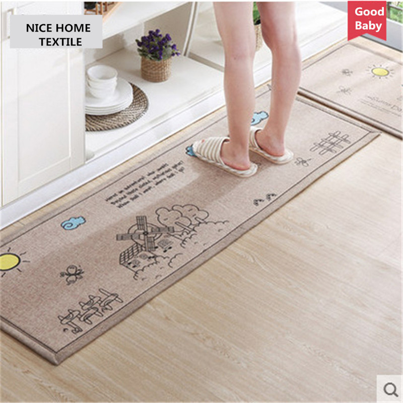 50x80cm 50x160cm skid resistance mat kitchen carpet bath for Tapis de cuisine aliexpress