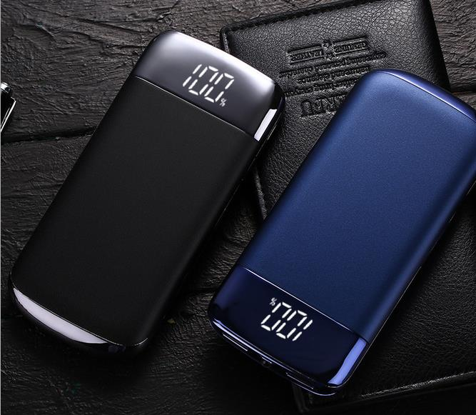 font b 2018 b font 10000mAh Mobile Power Bank with LED Charger for font b