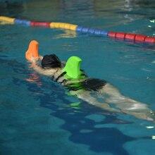 лучшая цена Everest EVA Swimming Fins Swim Floating Tool for Children Adult Thicker Float Shark Fins Pool Buoyancy Swimming Aids