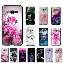 Voor Samsung Galaxy J2 Prime A5 2016 J1 2016 Case Zachte Tpu Silicone Case Voor Samsung Galaxy A3 2017 A5 2017 Cover 3D Telefoon Cover(China)