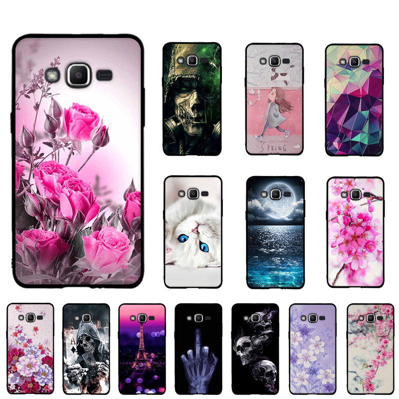 For Samsung Galaxy J2 Prime A5 2016 J1 2016 Case Soft TPU Silicone Case for Samsung Galaxy A3 2017 A5 2017 Cover 3D Phone Cover image