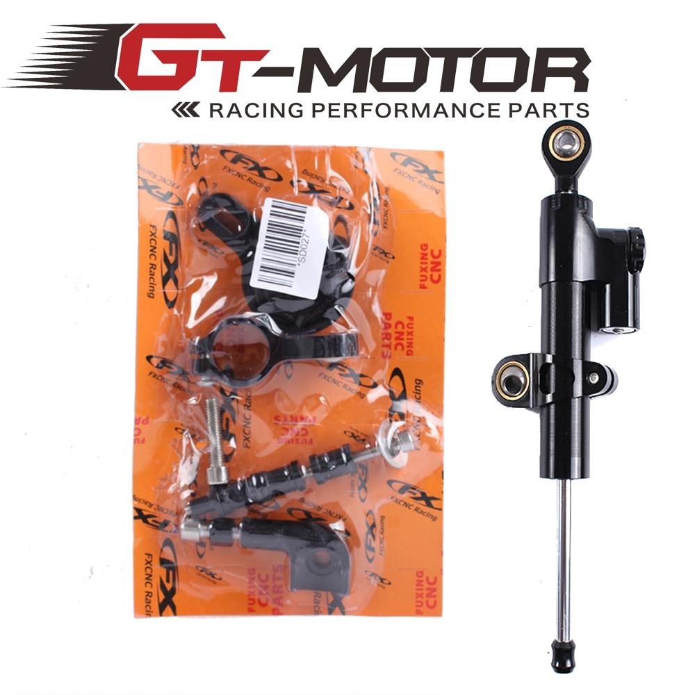 ФОТО GT Motor - CNC Steering Damper Complete Set for YAMAHA YZF-R1 1999-2005