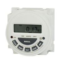 CN304 AC 220V Digital LCD Power Weekly Programmable Timer Time Switch Relay