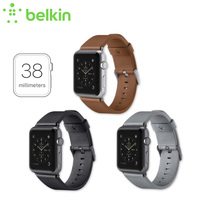 New Arrival Belkin Original Classic Italian Leather Strap Band For Apple Watch 38mm With Retail Package